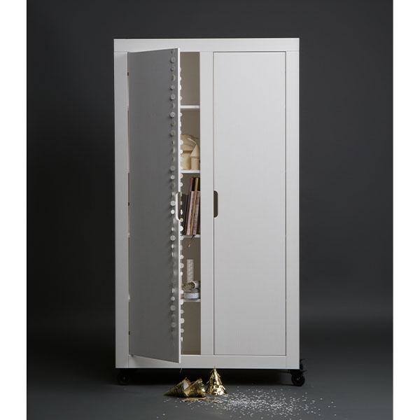 2 deurs kast Billy wit