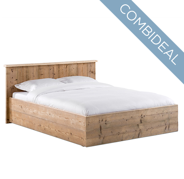 Compleet bed 'Modern' + micro-pocket matras
