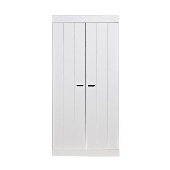 2 deurs kledingkast wit